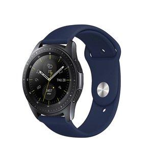 Ремешок COTEetCI W42 Silicone Band синий для Samsung Gear S3 20mm