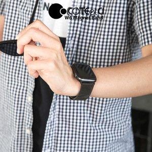 Ремешок Coteetci W6 черный для Apple Watch 38/40 мм