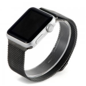 Ремешок Coteetci W6 черный для Apple Watch 42/44 мм