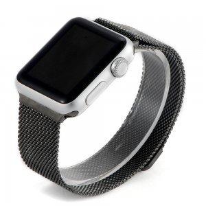 Ремешок для Apple Watch 38мм - Coteetci W6 черный