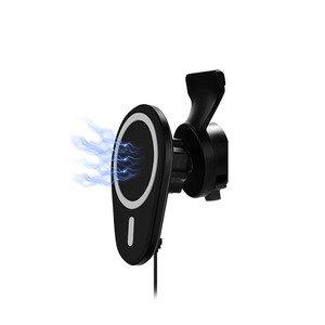 Беспроводное автомобильное зарядное устройство COTEetCI WS-29 для iPhone 12 серии (CS5716)