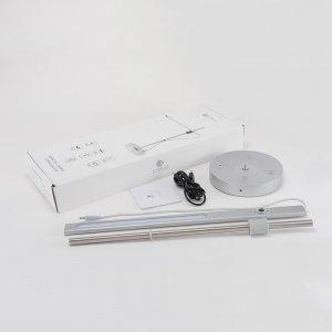 Настольная лампа COTEetCI 360 desk Light серебристая