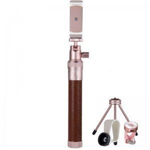 Штатиф для селфи Coteetci 1м, розовый