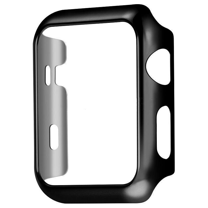 Пластиковый чехол Coteetci черный для Apple Watch 42мм (Серии 1-3)