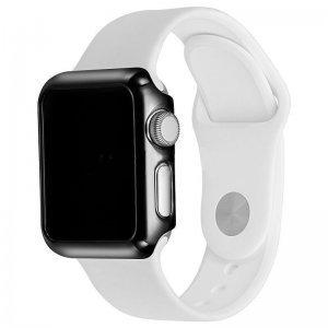 Пластиковый чехол Coteetci черный для Apple Watch 38мм (Серии 1-3)