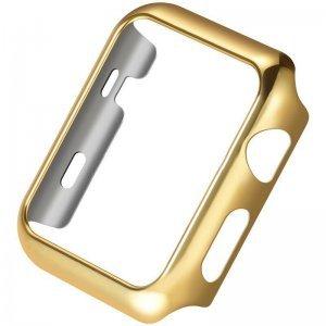 Ультратонкий чехол Coteetci золотой для Apple Watch 2 42мм
