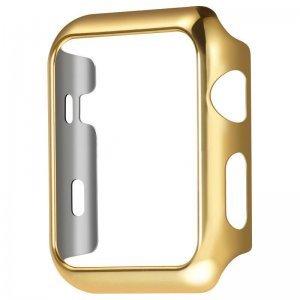 Ультратонкий чехол Coteetci золотой для Apple Watch 3/2 42мм