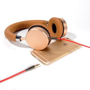 Аудио кабель Coteetci 1.5м, красный