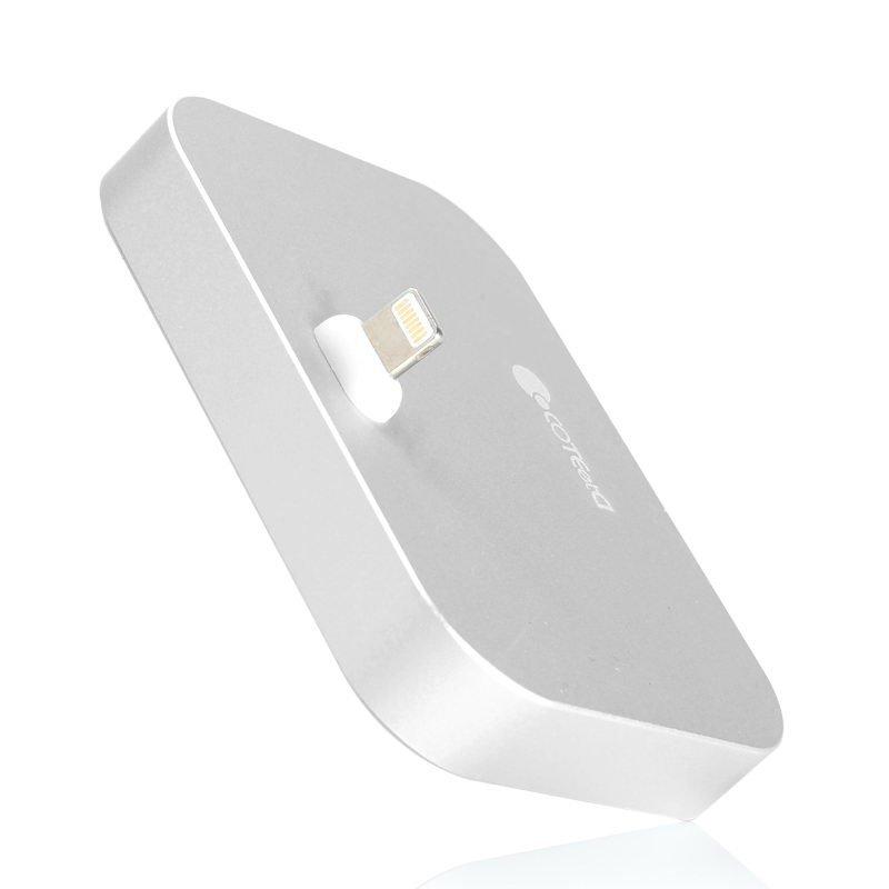 Док-станция Coteetci Base12 серебристая для iPhone