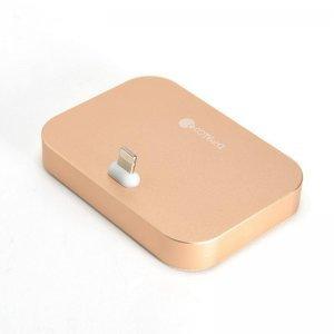 Док-станция для Apple iPhone - Coteetci Base12 золотистая