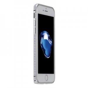 Бампер со стразами Coteetci Diamond серебристый для iPhone 7 Plus