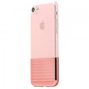 Силиконовый чехол Coteetci Gorgeous розовый для iPhone 8/7/SE 2020