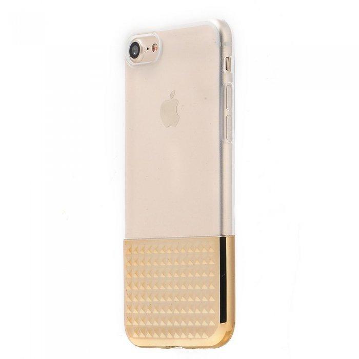 Силиконовый чехол Coteetci Gorgeous золотой для iPhone 8/7