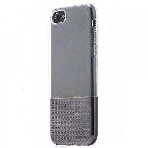 Силиконовый чехол Coteetci Gorgeous черный для iPhone 8/7