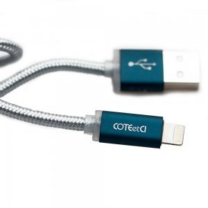 Кабель Lightning для iPhone/iPad/iPod - Coteetci M30i 1.2м, чёрный