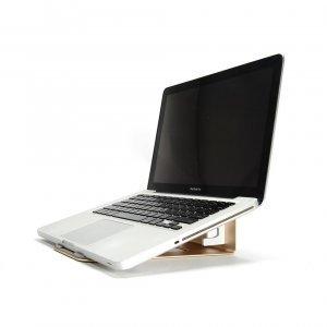 Подставка для ноутбука, планшета Coteetci золотистая