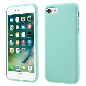 Силиконовый чехол Coteetci Silicone голубой для iPhone 8/7