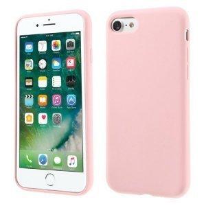 Силиконовый чехол Coteetci Silicone розовый для iPhone 8/7/SE 2020