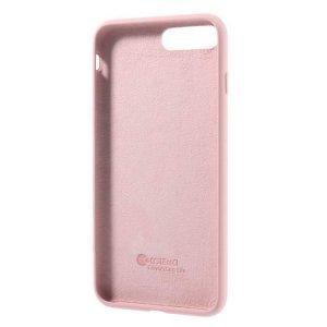 Силиконовый чехол Coteetci Silicone розовый для iPhone 8 Plus/7 Plus