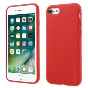 Силиконовый чехол Coteetci Silicone красный для iPhone 8/7