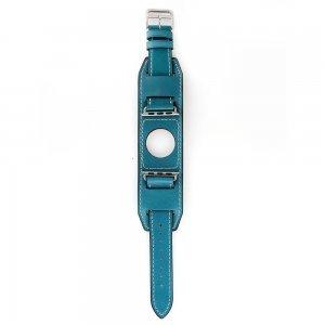 Ремешок для Apple Watch 42/44 мм - Coteetci W10 Hermes голубой