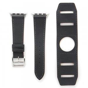 Ремешок для Apple Watch 38/40 мм - Coteetci W10 Hermes темно-серый