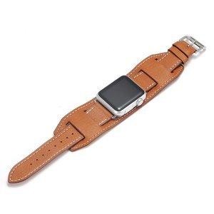 Ремешок для Apple Watch 42/44 мм - Coteetci W10 Hermes коричневый