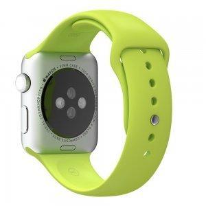 Ремешок для Apple Watch 38мм - Coteetci W3 зелёный