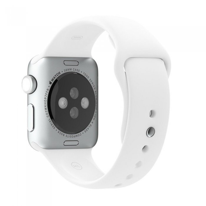 Ремешок для Apple Watch 38/40 мм - Coteetci W3 белый