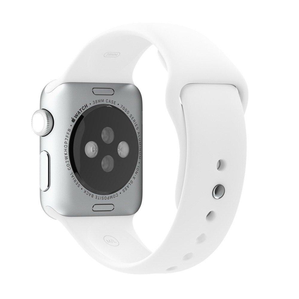 Ремешок для Apple Watch 42/44 мм - Coteetci W3 белый