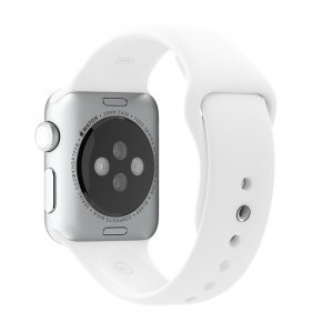 Ремешок для Apple Watch 42мм - Coteetci W3 белый