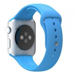 Ремешок для Apple Watch 38мм - Coteetci W3 голубой