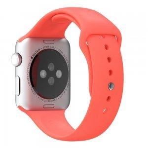 Ремешок для Apple Watch 42мм - Coteetci W3 красный
