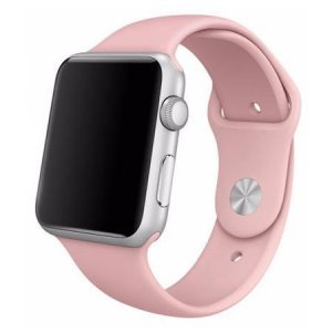 Ремешок для Apple Watch 38мм - Coteetci W3 розовый