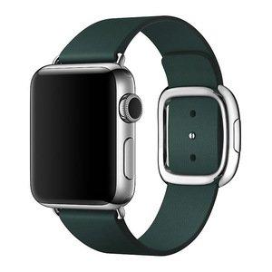 Ремешок Coteetci W5 Nobleman зелёный для Apple Watch 38/40 мм