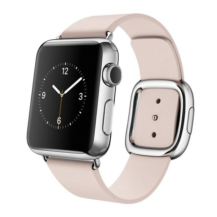 Ремешок для Apple Watch 38/40 мм - Coteetci W5 Nobleman розовый
