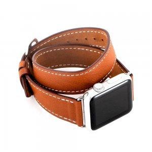 Ремешок для Apple Watch 42/44 мм - Coteetci W9 коричневый