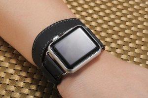 Ремешок для Apple Watch 38/40 мм - Coteetci W9 серый
