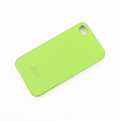 Чехол-накладка для Apple iPhone 4/4S - SGP зеленый