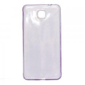 Чехол-накладка для Samsung Galaxy Alpha SM-G850F - 0,3мм фиолетовый
