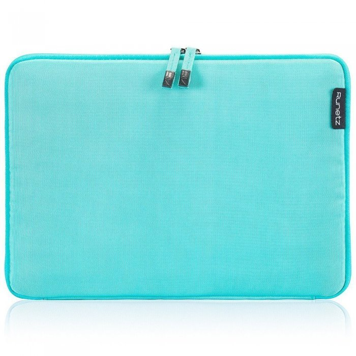 """Чехол-карман для Apple MacBook Pro 15""""/Pro Retina 15"""" - Runetz Soft Sleeve голубой"""