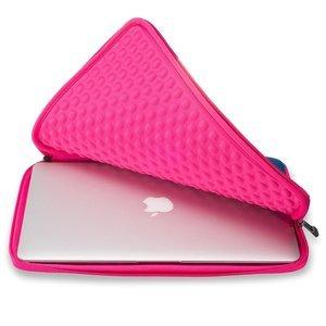"Чехол-карман для Apple MacBook 13"" - Runetz Neoprene Sleeve синий + розовый"