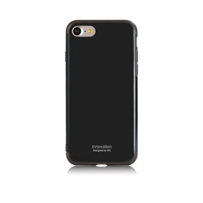 Пластиковый чехол WK Roxy матовый черный для iPhone 8 Plus/7 Plus