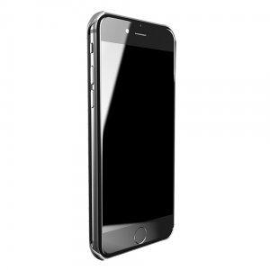 Чехол со стразами Lucien Elements Chrome серебристый для iPhone 6/6S