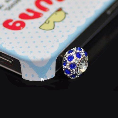Заглушка для разъема для наушников Fashion Diamond Noble Anti-drilling Dust 3.5mm Plug