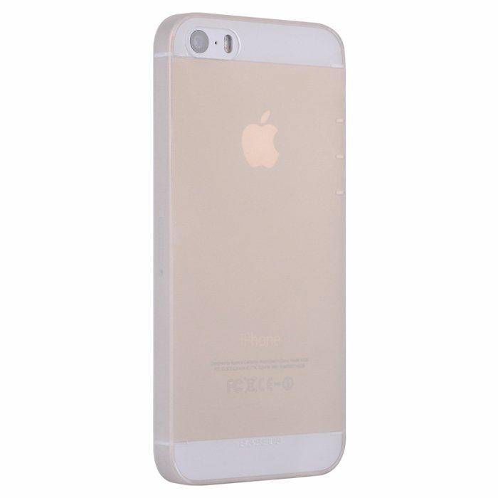 Чехол Baseus Wing белый для iPhone 5/5S