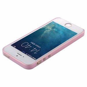 Чехол Baseus Wing розовый для iPhone 5/5S/SE