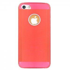 Чехол BASEUS Ultra-thin красный для iPhone 5/5S