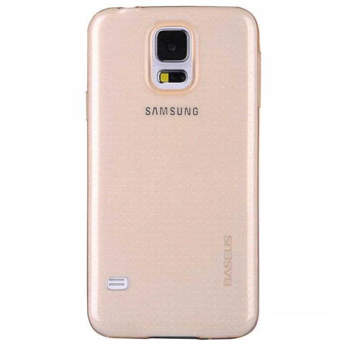 Чехол BASEUS Air золотой для Samsung Galaxy S5