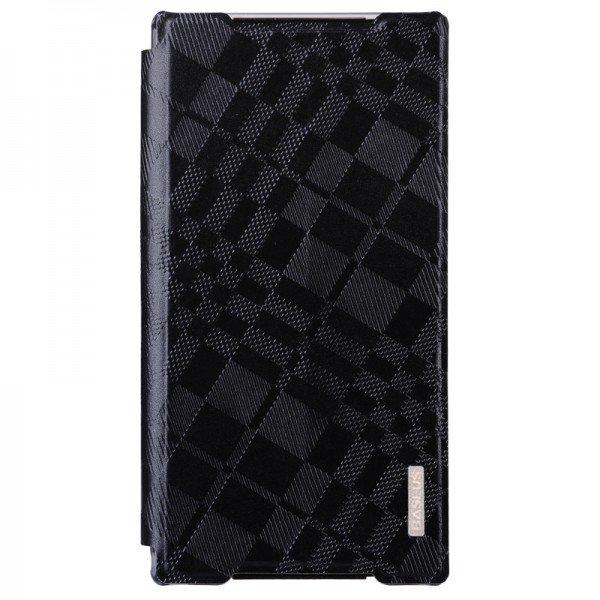 Чехол (книжка) Baseus Brocade черный для Sony Xperia Z2